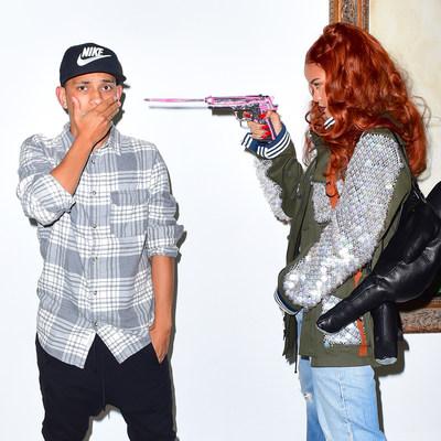 "Miles Diggs (AKA ""Diggzy"") and Rihanna."