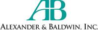 Alexander & Baldwin, Inc. Logo. (PRNewsFoto/Alexander & Baldwin, Inc.)