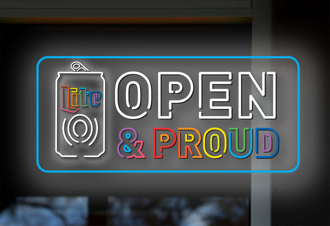 """Miller Lite & Equality Federation Introduce """"Open & Proud"""", Helping To Create Safe Spaces At Bars for the LGBTQ Community"""