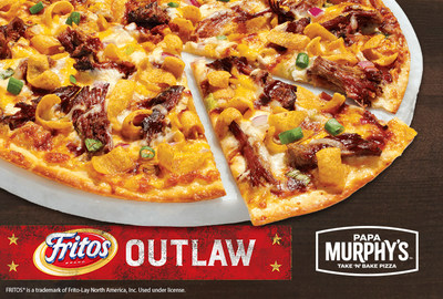 FRITOS® TEAMS UP WITH PAPA MURPHY'S® TAKE 'N' BAKE PIZZA TO UNVEIL LIMITED-EDITION FRITOS® OUTLAW PIZZA