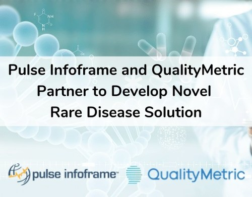 Pulse Infoframe and QualityMetric Partner to Develop Novel Rare Disease Solution