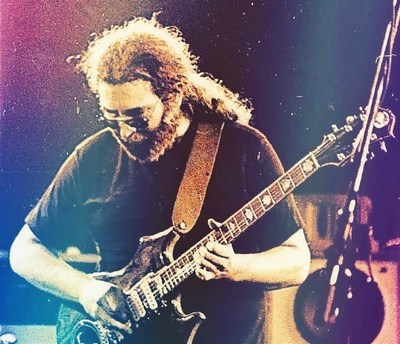 Jerry Garcia Photo credit: Elliot Newhouse