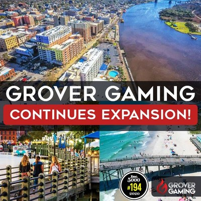 Grover Gaming, an industry leader in software and development for lottery and charitable gaming jurisdictions across the US, announced today that it will open a new game studio in Wilmington, NC.