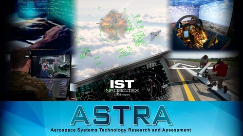The ASTRA program includes contracts for Aerospace Technology Development and Testing and  Multi-Domain Operations Modeling, Simulation, and Analysis