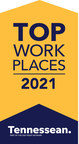 i2i Receives Top Workplaces 2021 Award