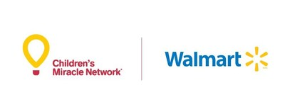 Children's Miracle Network et Walmart Canada Logo (Groupe CNW/Canada's Children's Hospital Foundations)
