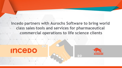 Incedo partners with Aurochs Software for clients in commercial pharma operations