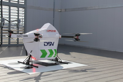 Drone Delivery Canada's Sparrow Drone for the DSV Route (CNW Group/Drone Delivery Canada Corp.)