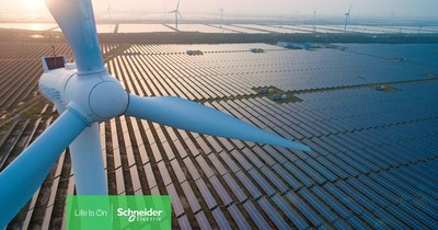 Schneider Electric Helps Clients Reach Landmark Milestone of 10,000 MW Advised Renewable Energy Power Purchase Agreements (CNW Group/Schneider Electric Canada Inc.)