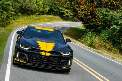 Hertz Donates Custom Camaro ZL1 that Raises $250,000 for the Jack & Jill Late Stage Cancer Foundation at Auction