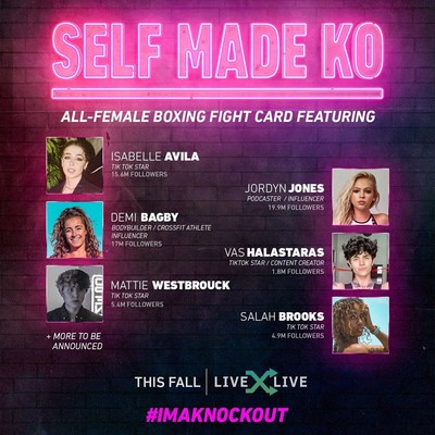 LiveXLive Launches Self Made KO #ImAKnockout