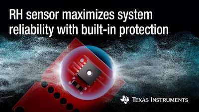 Engineers can optimize system efficiency and extend industrial and automotive system lifetimes with the industry's highest-accuracy and lowest-power humidity sensors