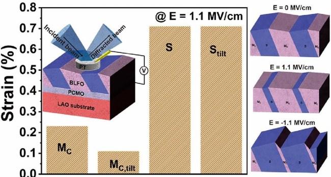 혼합 위상 에피 택셜 BLFO 박막은 전기장에 의해 유도 된 위상 변화 역학을 나타낸다, 광주 과학 기술원 과학자들 |  사진 제공 : 광주 과학 기술원 조지영
