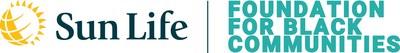 Sun Life / Foundation for Black Communities Logo (CNW Group/Sun Life Financial Inc.)