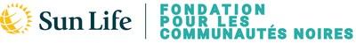 Logo de Sun Life / Fondation pour les communautes noires (Groupe CNW/Sun Life Financial Inc.)