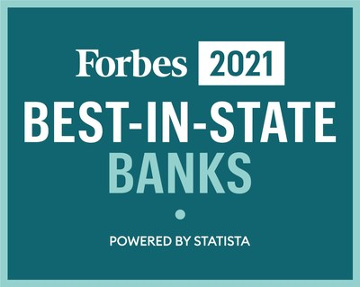 For the second year in a row, The Washington Trust Company has been named by Forbes as one of 'America's Best-In-State' banks.