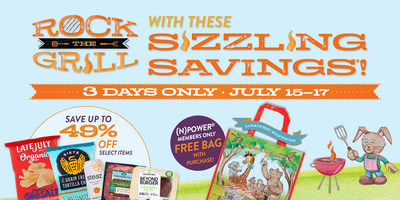 """Natural Grocers is celebrating culinary creativity and all things grill-able in July with its new """"Rock the Grill"""" event. Join the natural and organic grocery retailer for a month of healthy + delicious recipes, tips + hacks, and discounts – just grab a cast iron skillet or a dutch oven."""
