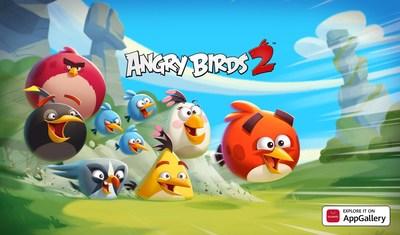 Angry Birds 2 chega à AppGallery para trazer desafios cheios de penas e diversão e ofertas para os usuários da Huawei