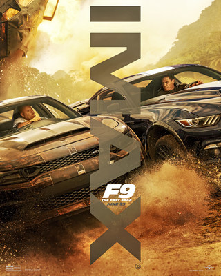 An IMAX poster for the new F9 movie.