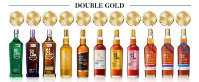 Kavalan coleciona um recorde de 11 medalhas Double Gold