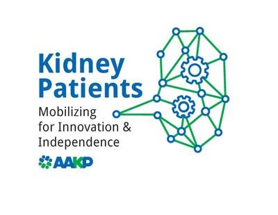 AAKP Kidney Patients - Mobilizing for Innovation & Independence Logo