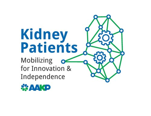 AAKP Kidney Patients - Mobilizing for Innovation & Independence Logo (PRNewsfoto/American Association of Kidney Patients)