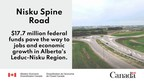 Government of Canada funding to support jobs and growth in Leduc-Nisku Region