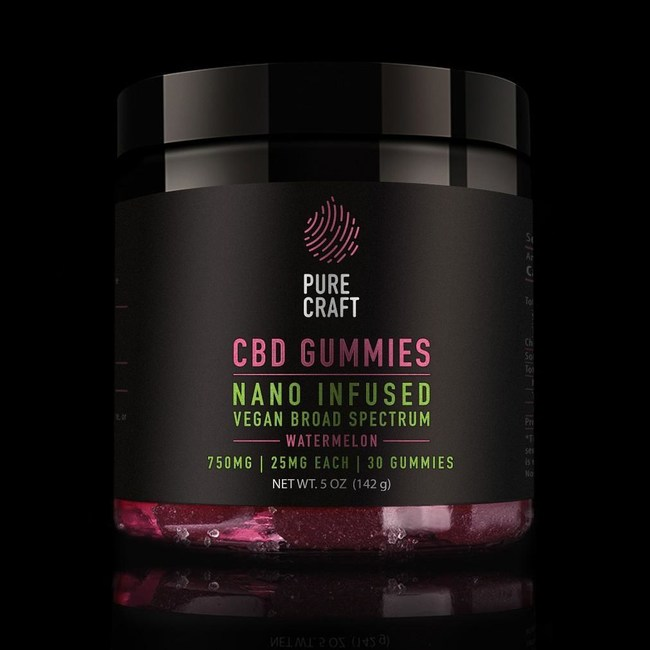 Pure Craft CBD Launches New Watermelon-flavored Vegan CBD Gummies in Response to the Popular Demand of Its Gummies