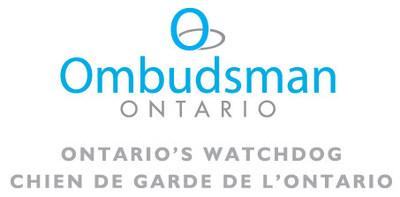 Logo de Ombudsman Ontario (Groupe CNW/Ombudsman  Ontario)