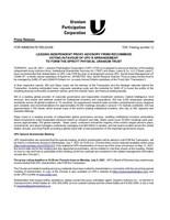 领先的独立代理咨询公司建议投票支持UPC安排成立斯普罗特物理铀信托