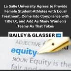 La Salle University Agrees to Provide Female Student-Athletes...