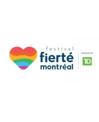 Festival Fierté Montréal Logo (CNW Group/Montréal Pride Celebrations)