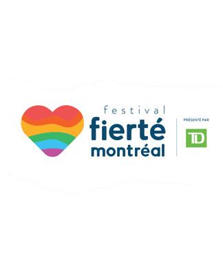 Logo de Fierté Montréal (Groupe CNW/Célébrations de la Fierté Montréal)