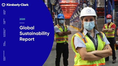 Kimberly-Clark's 2020 global sustainability report provides the first update on its global progress toward the company's 2030 sustainability strategy and goals, aimed at addressing the social and environmental challenges of the next decade with commitments to improve the lives and well-being of 1 billion people in underserved communities around the world with the smallest environmental footprint.