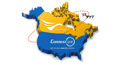 Volatus Aerospace will leverage ConnexiCore's proven drone data platform and extensive drone pilot network to expand into the US market, and also develop their Canadian drone business further.