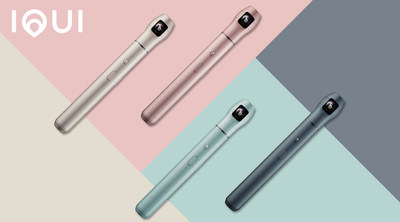 Vecnos Inc., the visual revolution company spun out of Ricoh Company, Ltd., today announced three new colors of its 360-degree camera IQUI, in addition to a major update to its companion app, IQUISPIN. IQUI is now available in gray, mint and pink on Amazon.com and at b8ta, in addition to its original color, champagne gold.