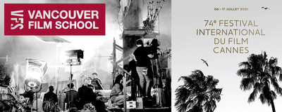 The internationally acclaimed Vancouver Film School will be in step at the Cannes Film Festival and Market participating in a pioneering industry program, impACT. (CNW Group/Vancouver Film School)