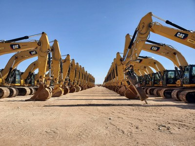 On August 10 - 11, Ritchie Bros. will conduct its largest pipeline construction event ever in New Mexico for Barrilleaux Inc. (CNW Group/Ritchie Bros.)