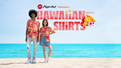 Pizza Hut Launches Limited-Edition Hawaiian Pizza Shirts (CNW Group/Pizza Hut Canada)