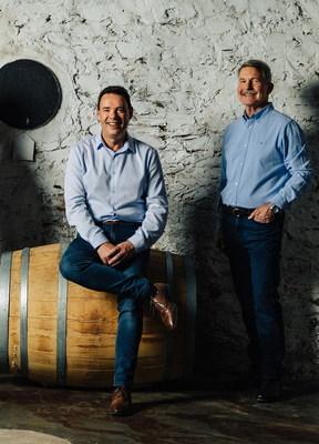 Chris Hatcher & Steven Frost from Wolf Blass Wines (PRNewsfoto/International Wine Challenge)