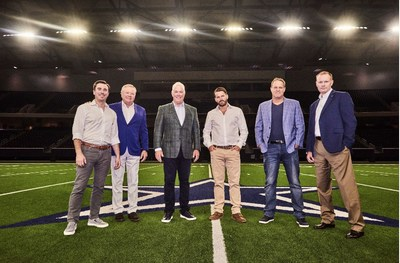 GameSquare acquires Complexity today. From left to right: Travis Goff (Goff Capital President), John Goff (Goff Capital Founder), Stephen Jones (Dallas Cowboys COO/EVP), Justin Kenna (GameSquare CEO), Jason Lake (Complexity CEO/GameSquare Global Head of Esports) and Tom Walker (Dallas Cowboys CFO) - (Photo Credit: David Higgs)
