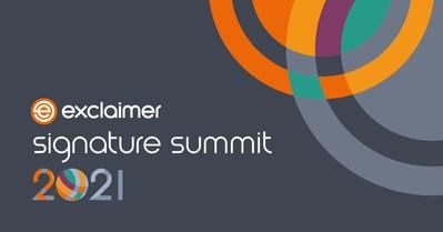 The Exclaimer Signature Summit 2021.