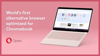 Opera ships world's first alternative browser optimized for Chromebooks