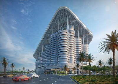 Al Shera'a will be the tallest, largest, and smartest government Net Zero Energy Building with net zero carbon emission in the world. The total energy used in the building during a year will be equal to or less than the energy produced on-site