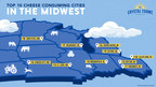 Crystal Farms Reveals Top 10 Cheese Consuming Cities in the Midwest