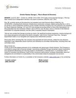 Ovintiv Names George L. Pita to Board of Directors (CNW Group/Ovintiv Inc.)