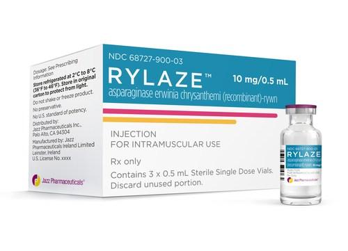 Rylaze (PRNewsfoto/Jazz Pharmaceuticals plc)