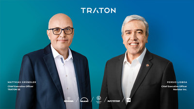 TRATON GROUP successfully completes Navistar merger and joins the global TRATON family.