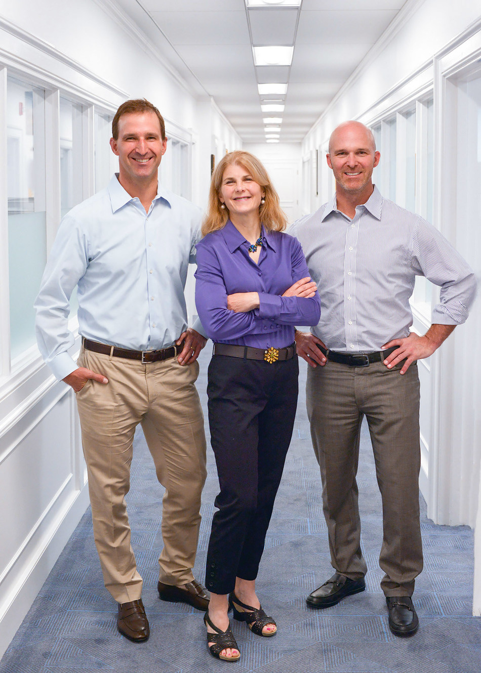 Ryan Raveis (Co-President), Lisa Carpenter (Chief Marketing Officer), and Chris Raveis (Co-President) at William Raveis Real Estate, Mortgage and Insurance headquarters in Shelton, CT. WRRE is the number one family-owned real estate company in the Northeast, and spanning to Florida, and the sixth largest independent real estate brokerage in the United States, according to RealTrends. (PRNewsfoto/William Raveis Real Estate, Mortgage & Insurance)