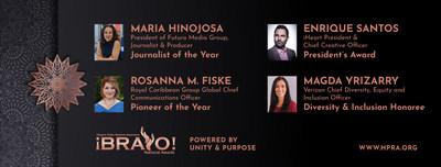 Ganadores de los premios HPRA Bravo 2021 (PRNewsfoto/HPRA)